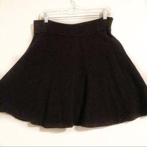 Knit Sweater Mini Skirt | Gap Sz. L